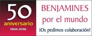 Colabora 50 aniversario Benjamin Tudela