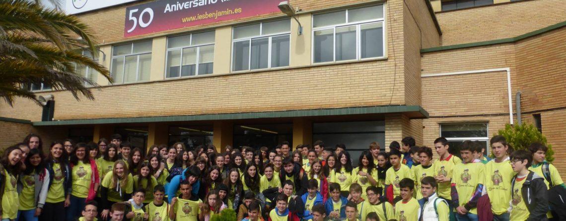 Encuentro con alumnos del I.E.S. Tubalcaín de Tarazona