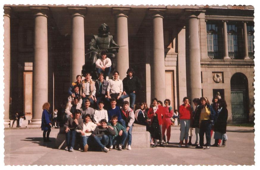 Viaje Semana Santa 1986